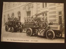 Sapeurs Pompiers De PARIS - Un Départ - Edition JH - Firemen