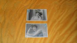 LOT DE 2 CARTES POSTALES ANCIENNES CIRCULEES DE 1904. / SYDNEY PAUL BOYER , REUTLINGER../ CACHETS + TIMBRE - Women