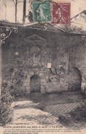 Cp , 91 , SAINTE-GENEVIÈVE-des-BOIS , La Grotte - Sainte Genevieve Des Bois
