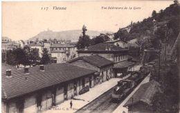 Vienne Vue Intérieure De La Gare - Vienne