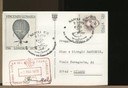 ITALIA - NAPOLI - VULCANO VESUVIO - MOSTRA FRANCOBOLLO EUROPA 1979 - Giorno Apertura Inaugurazione - Esposizioni Filateliche