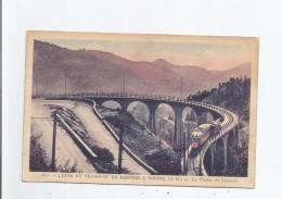 LIGNE DU TRAMWAY DE MENTON A SOSPEL (A M) 1840 LE VIADUC DU CARAMEL (TRAM PASSANT)1931 - Frankreich