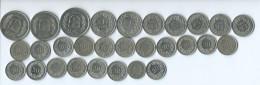 Monnaie Suisse 28 Pieces Monnaie Toujours Utiliées En Suisse - Suisse