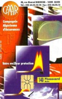 ALGERIA 140 UNITS  CAAR INSURANCE COMPANY  ABSTRAC DESIGN  ALG-17 CHIP MINT (?) READ DESCRIPTION !! - Algeria