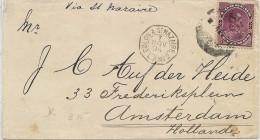 LBL37FR -  VENEZUELA LETTRE A DESTINATION D'AMSTERDAM NOVEMBRE 1894 - Venezuela