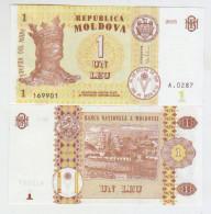 Moldova 1 Lei 2015 Pick8 UNC - Moldova
