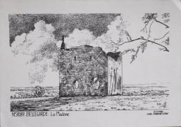 C.P.M. - GARD - N° 3087 - BELLEGARDE - La Madone - Illustration Yves Ducourtioux - En TBE - Bellegarde