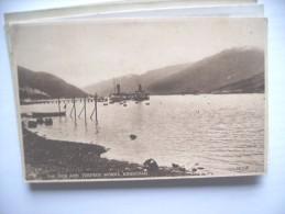 Scotland Arrochar The Pier And Torpedo Works - Argyllshire
