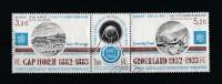 T.A.A.F. 1982 - Poste Aérienne - Timbres Yvert & Tellier N° 75 à 77 Se Tenant - Poste Aérienne