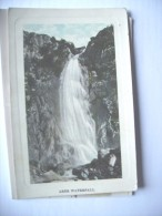 Wales Abergwyngregyn Gwynedd Aber Waterfall Old - Pays De Galles