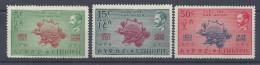 ETHIOPIE - 1949 -  P. AERIENNE N° 31 - 32 - 34 - NEUFS X - TB - - Ethiopie