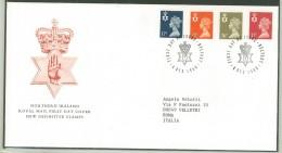 FDC IRLANDA - ANNO 1990 - ROYAL MAIL - NORTHERN IRELAND - BELFAST - PER ROMA - ITALIA - - FDC