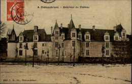 44 - CHATEAUBRIANT - Chateau - Carte Toilée - Châteaubriant