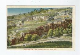 JERUSALEM 804 THE HINNOM VALLEY THE BLOOD FIELD - Israele