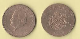 10 Francs 1981 Principato Di Monaco - Monaco