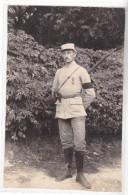 WWI - 1915 - 103 EME REGIMENT - CROIX DE GUERRE ET PALME - AVEC SON FUSIL - PHOTO MILITAIRE - Guerre, Militaire
