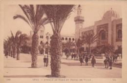 Tunisia Sfax Avenue de Paris et Hotel de Ville