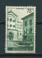 1954 Monaco 75Fr. Definitive,St.Nikolaus Used/gebruikt/oblitere - Mónaco