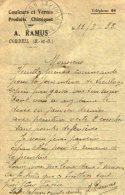 TB 982 - Carte Postale Publicitaire Couleurs & Vernis A. RAMUS CORBEIL Pour NANDY Par CESSON - Advertising