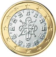 Portugal 2016      1 Euro     UNC Uit De BU  UNC Du Coffret  !! - Portugal