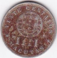 PORTUGAL - PIECE DE 20 CENTAVOS - ANGOLA - 1927 - Portugal