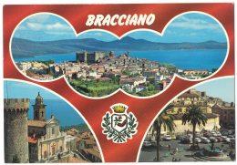 VB168      Bracciano (Roma) - Panorama - Vedute - Stemma Cittadino - Italie