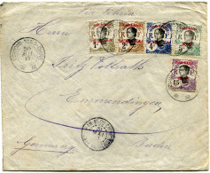 TCH'ONG-K'ING  LETTRE DEPART TCH'ONG-K'ING-CHINE 20 MAI 13 POUR L'ALLEMAGNE - Lettres & Documents