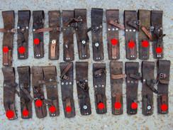 Porte Baïonnette - Gousset Pour Baïonnette Suédoise Mauser Modèle 1896 - Armes Blanches