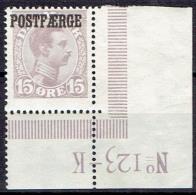 DENMARK  # FROM 1919  STANLEY GIBBONS P211** - Paketmarken