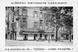 TORINO  , Albergo  Ristorante Casalegno , Via Garibaldi , Corso Palestro - Stadiums & Sporting Infrastructures