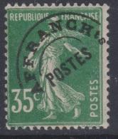 FRANCE - 1922-47 - Préoblitéré - XX - Y&T 63 - 35c - Valeur  13.5€
