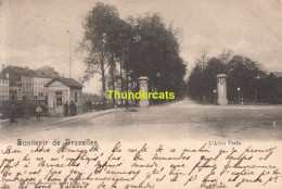 CPA BRUXELLES NELS SERIE 1 No 86 L'ALLEE VERTE - Avenues, Boulevards