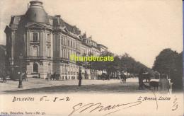 CPA BRUXELLES NELS SERIE 1 No  57 L'AVENUE LOUISE - Avenues, Boulevards