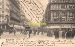 CPA BRUXELLES NELS SERIE 1 No 51 BOULEVARD ANSPACH - Avenues, Boulevards