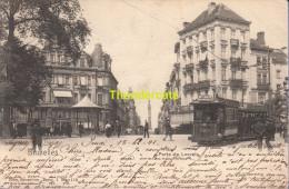CPA BRUXELLES NELS SERIE 1 No  119 PORTE DE LOUVAIN TRAM - Vervoer (openbaar)