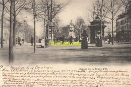 CPA BRUXELLES NELS SERIE 1 No  23 AVENUE DE LA TOISON D'OR - Avenues, Boulevards