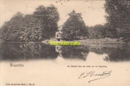 CPA BRUXELLES NELS SERIE 1 No  27 LE GRAND LAC AU BOIS DE LA CAMBRE - Forêts, Parcs, Jardins