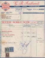 DITTA INDUSTRIA G.B.AMBROSOLI RONAGO COMO CARAMELLE MIELE CERE MIELE API ALIMENTARI 1952 - Italië