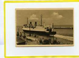 DUNKERQUE . Depart Du Ferry Boat  Postée 1938 - Dunkerque
