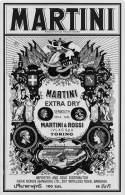 """05248  """"MARTINI EXTRA DRY - MARTINI & ROSSI IVLAS SPA - TORINO - 100 CL - 18° - BANGKOK"""". ETICHETTA ORIGINALE - Autres"""