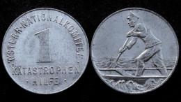 1 Katastrophen Hilfe. Osterr Nationalkomitee. Autriche/Austria. Aluminium - Monétaires / De Nécessité