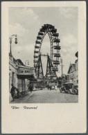 2227 - Alte Foto Ansichtskarte - Wien Riesenrad Gel  Nach Auerbach - Prater