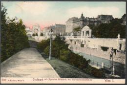 2229 - Alte Ansichtskarte - Wien Stadtpark Gel Nach Ziegenhals - Vienna Center