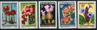 1969 Gabon, Fiori , Serie Completa Nuova (**) - Gabon (1960-...)