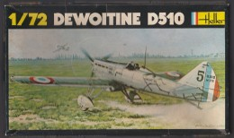 Dewoitine D510, Heller 1/72e - Vliegtuigen