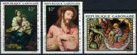 1968 Gabon, Quadri - Posta Aerea, Serie Completa Nuova (**) - Gabon (1960-...)
