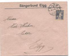 25803 - Enveloppe Envoyée De Elgg 1926 - Cartas