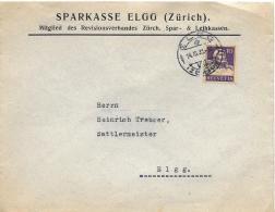 25806 - Enveloppe Envoyée De  Elgg 1933 - Cartas