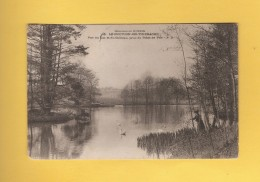 * CPA..dépt 02..LE NOUVION En THIERACHE  :  Vue Du  Lac Et Du Château  : Voir Les 2 Scans - France