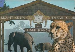 Kenia  East Afrika - Safari Club - Wild Cat - 2x Nice Stamps - Kenia